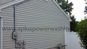 clean house siding (side)