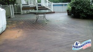 lincroft deck cleaning