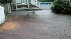 monmouth county wood deck cleaning