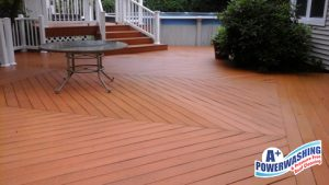 ocean county deck cleaning