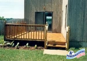 monmouth deck cleaning
