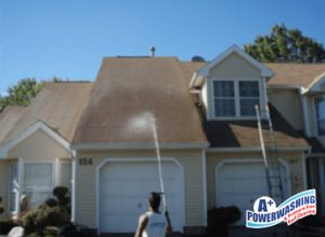 professional roof washing ocean county