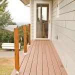 Cleaning a composite Deck