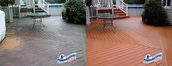 Middlesex County Deck Cleaning