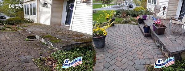 Middlesex County Pavers Cleaning