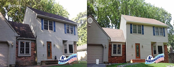 Monmouth County Vinyl and Aluminum Siding Cleaning